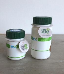 Nova embalagem sustentável