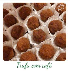 Trufa com Café